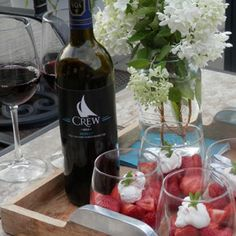 August 16, 2015 - CREW Colchester Ridge Estate Winery 2011 Merlot with Merlot Strawberries with Whipped Cream. Treats for Summer Heat! - See more at: http://www.essexcountywineries.ca/wines/2015/20150816.htm#sthash.Rmagv7v7.dpuf