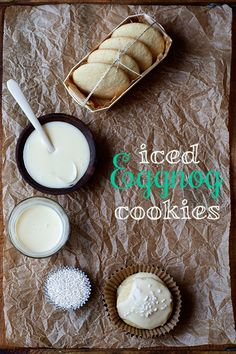 Iced Eggnog Cookies - My daughter and I love eggnog so I need to try these, for her sake :-)