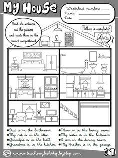 Mi casa - Ejercicio 4 (B & W versión)