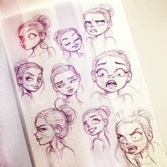 Cartoon Drawing Techniques Image de art, artwork, and cartoons Drawing Cartoon Faces, Cartoon Art Styles, Cute Drawings, Cartoon Eyes, Facial Expressions Drawing, Cartoon Expression, Expression Sheet, Character Drawing, Character Design