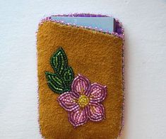 Beaded Card Holder