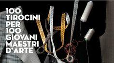 100 Tirocini per 100 giovani maestri d'arte alla Fondazione Cologni http://omaventiquaranta.blogspot.it/2013/08/100-tirocini-per-100-giovani-maestri.html