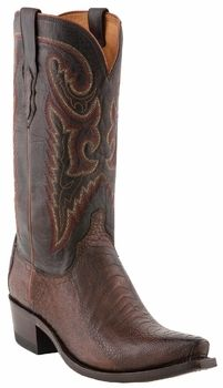 *NEW* Lucchese Since 1883 De Soto Sienna Burnished Ostrich Leg Cowboy Boots M1616