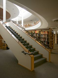 Mount Angel Abbey Library St Benedict (Mount Angel) Oregon, USA/ Alvar Aalto 1970