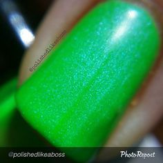"by @polishedlikeaboss ""#macro of Grace, in all of her glory! Part of the Shifty Neons collection by @dailyhuesnaillacquer, which releases on May 31st!  #indieaday #macromanis #dailyhuesnaillacquer #polishedlikeabossdailyhues #shiftyneons #indiebossstyle #indienails #indie411 #indiemanis #indienailpolish #indiepolish #indieswatch #indienailpolishes #supportindienailpolish #nailsofig #mani #manisofig #notd #instanails #polishaddict #nailsofig #instagramnails  #nailstagram #nailpolish #ignails…"