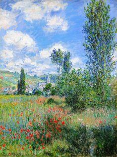 View of Vetheuil, Monet 1880, Fade Resistant HD Art Print in Art, Prints   eBay