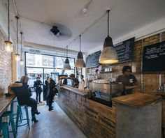 The Good Life Eatery by Coupdeville Architects, London