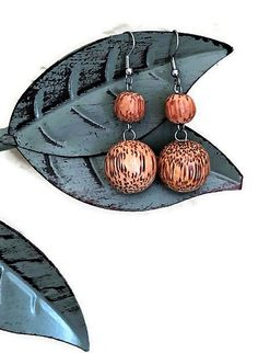 Items similar to Send a Gift of Wood Tribal Earrings /Happy Birthday Wife / I Miss You Gift as Grandchildren Gift /Thinking of You Gift from Daddy Daughter on Etsy Brown Earrings, Tribal Earrings, Simple Earrings, Summer Necklace, Bridal Necklace, Stocking Stuffers For Her, Gifts For Fiance, Art Deco Necklace, Wooden Earrings