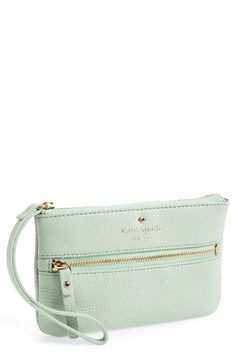 kate+spade+new+york+'cobble+hill+-+bee'+wristlet+available+at+#Nordstrom