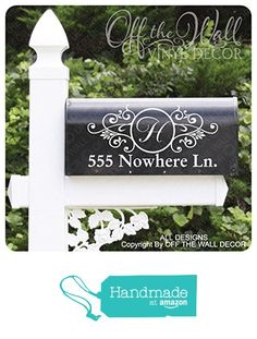Vinyl Mailbox Lettering Decoration #D1 from Off The Wall Vinyl Decor