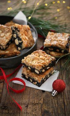 Peanut Crunch Buckeye Bars | Sprinkle Bakes