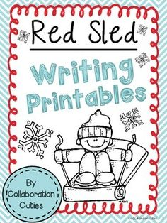 I created these writing printables to use with the mentor text Red Sled by Lita Judge. This adorable book is perfect for Winter Writing! :)  Printables Included: *Onomatopoeia  *Quotation Marks *Describe the Setting *Show, Don't Tell *Red Sled Narrative Writing Paper  Follow our store for updates on more freebies and new downloads by clicking follow at the top of the page.