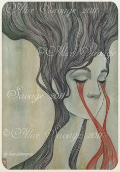 Former Flower Giclee Print by savagealice on Etsy, $28.00