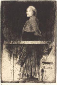Albert Besnard, Woman in a Cape (Doubt)