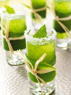 Mini mojitos