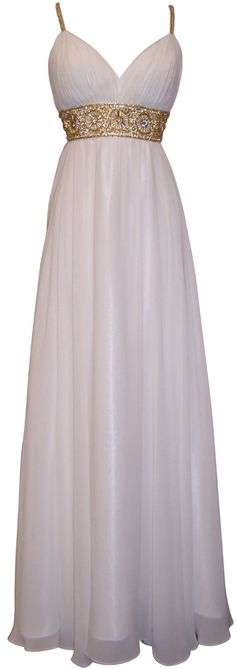 Greek goddess chiffon dress, using this dress style to create my Eris, Goddess of Chaos, costume. Evening Dresses, Formal Dresses, Wedding Dresses, Reception Dresses, Ladies Dresses, Gown Wedding, Lace Wedding, Full Length Gowns, Beautiful Gowns