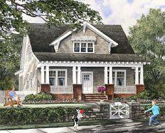 Coastal Home Plans - Seward Cottage