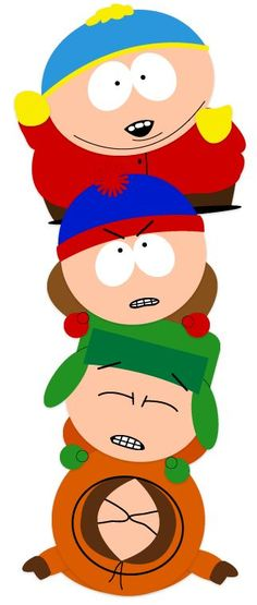 South Park. I can't remember the answer to my tests but I can understand Kenny... I think I might have a problem