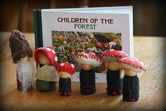 Wabi-Sabi Wanderings: Handmade Gifts - Children of the Forest Playset