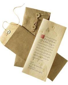 Renaissance wedding Invitation| medieval wedding ideas