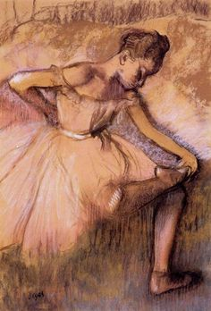 Pink Dancer, 1900 ~ Edgar Degas