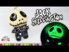 Jack Skellington Polymer Clay Tutorial / Jack Skeleton de Arcilla Polimérica - YouTube