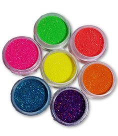 Fine cosmetic grade glitter with amazing shine. Buy all 7 Neon Glitters for the price of less than Save All About Me Lime Slice Pretty Flamingo Juicy Showgirl Luscious Sherbert Lemon Work perfectly with the 7 Neon Pigment Powders! Cosmetic Grade Glitter, Pigment Powder, Beautiful Nail Art, Glitters, Eye Candy, Eyeshadow, Bling, Neon, Bright