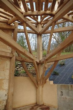 of round - Diy Interior Design Metal Barn Homes, Metal Building Homes, Pole Barn Homes, Building A House, Timber Architecture, Timber Buildings, Architecture Design, Timber Framing Tools, House Awnings