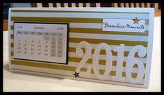 Kreatives aus Papier: Kalender für die Glamour Girls