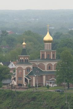 Russian Orthodox Church of the Nativity, Erie, Pennsylvania   And I have been in this beautiful church too!