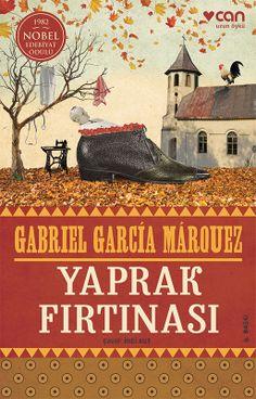 Gabriel Garcia Marquez Leaf Storm book cover design.