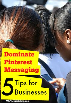 5 Helpful Tips for Growing Your Business with Pinterest Messaging. By @mcngmarketing. Read all about it at http://www.mcngmarketing.com/use-pinterest-messaging-system