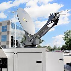 pCom satellite Internet trailer