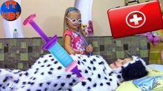 ИГРАЕМ В ДОКТОРА Лечим Щенка Делаем Операцию Видео для детей Play Doctor Game For kids http://video-kid.com/10925-igraem-v-doktora-lechim-schenka-delaem-operaciyu-video-dlja-detei-play-doctor-game-for-kids.html  Сегодня ребята вас ждет, перевоплощения Ярославы в настоящего Доктора! Смотрите, что случилось с новым питомцем Ярославы! Лечим щенка, делаем операцию в новом видео для детей! Встречайте Play Doctor Game For kids на каналеTiki Taki Kids!Все видео с Ярославой на SeezisKids -  Tiki…