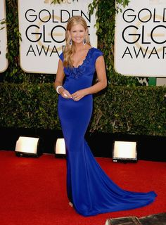 TV personality Nancy O'Dell attends the 71st Annual Golden Globe Awards held at The Beverly Hilton Hotel on January 12, 2014 in Beverly Hills, California.