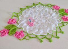 Tecendo+Artes+em+Crochet:+Esse+é+Top+-+Centro+de+Mesa+Primavera+saindo+do+Fo...