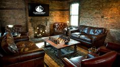 Leather Cigar Lounge @ Club Leaf & Bean at The Carriage House