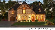 The Memphis Grove - luxury house Plan 972-907-0080