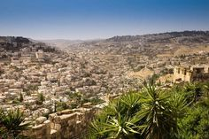View from the Old City Wall (close to the Zion-Gate) towards the South-East of Jerusalem. This valley has a 3000 years history; but since the Six-Day War in 1967 also many conflicts that are heavily increasing the last months.