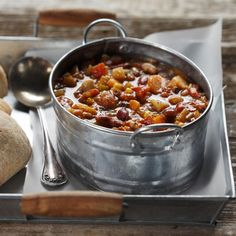 Vegetarian Chili Chowder - Half Cup Habit
