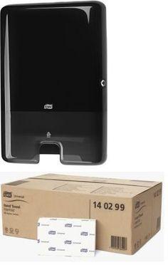 Pachet promotional format din dispenser prosoape pliate Tork 552008 si un bax de prosoape pliate Tork 140299. Electronics, Phone, Telephone, Mobile Phones