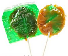 caramel apple pops are amazing. except when the edges were too sharp and they cut you
