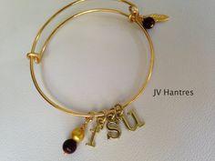 FSU Expandable Charm Bangle Bracelet QTY 1 by JVHANTRES on Etsy