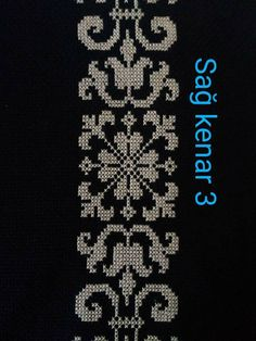 This Pin was discovered by Esm Cross Stitch Sampler Patterns, Cross Stitch Borders, Cross Stitch Designs, Cross Stitching, French Knot Embroidery, Cross Stitch Embroidery, Hand Embroidery, Palestinian Embroidery, Free To Use Images
