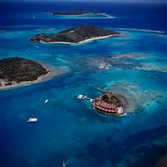 Saba Rock Resort - In the BVI....wonderful place to go and yes, it is a rock!!