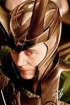 Tom Hiddleston   #Loki in Kenneth Branagh's #Thor (USA, 2011) #Marvel   great fanart