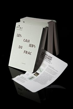 DESIGNER Akatre PUBLISHER FRAC Haute-Normandie.