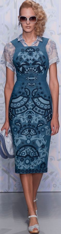 London Fashion Week Spring 2014 Holly Fulton | The House of Beccaria~