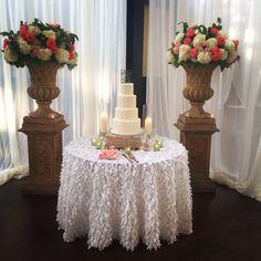 Wedding cake by Gabriel's  Haley & Kyle