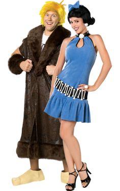 Adult Barney & Betty Rubble Combination
